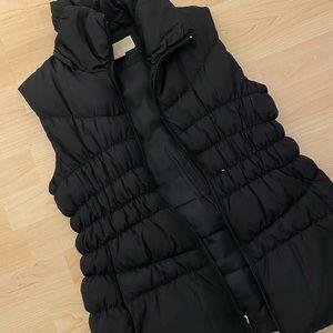 Michael Kors womens black winter down warm vest XS
